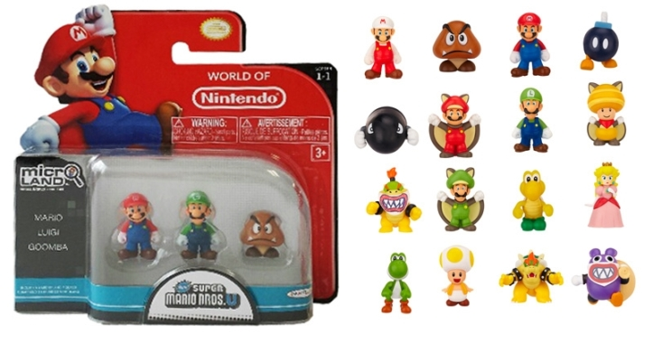 The Micro Land figures have a huge amount of variety and diehard fans will love seeing obscure characters in the small size.