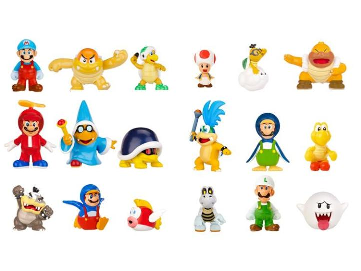 Mario Micro Land Figures - Wave Two