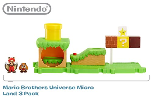 Jakks Pacific has quietly been release miniature versions of Mario and Zelda for a few months now.