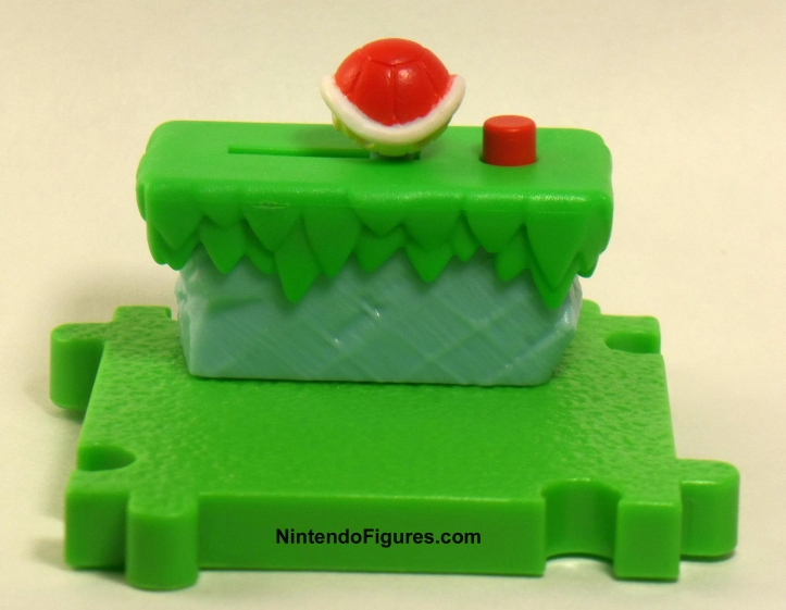 Red Turtle Shell Tile