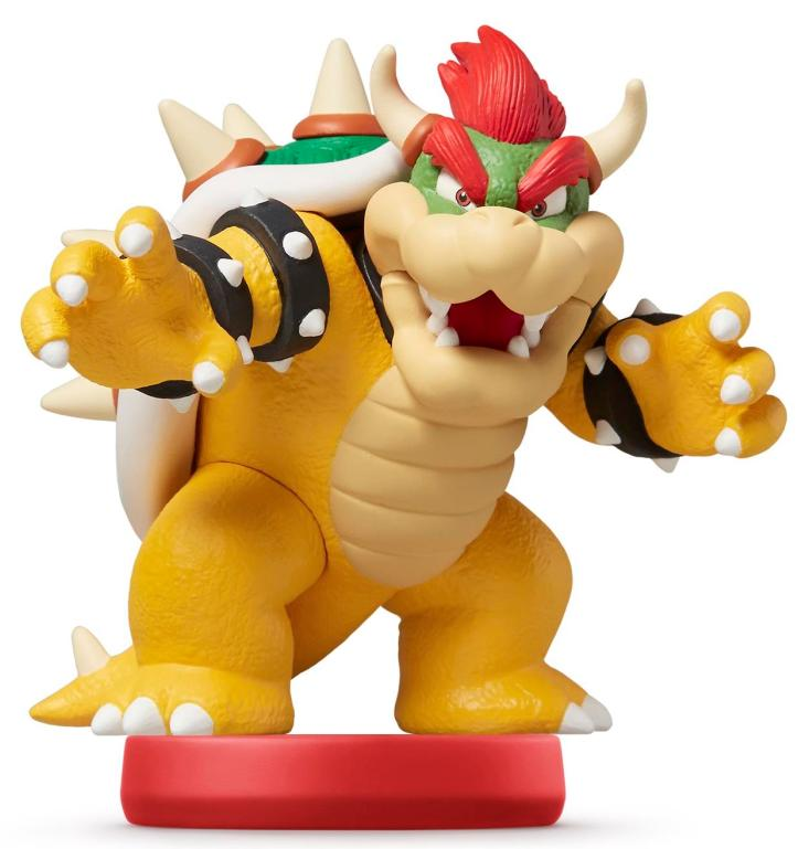 Super Mario Bowser Amiibo
