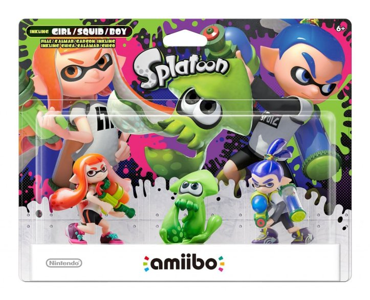 Splatoon 3-Pack Amiibo