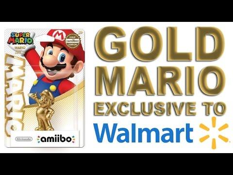 Gold Mario Exclusive