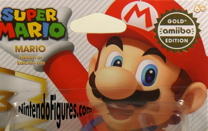 Gold Mario Package Detail