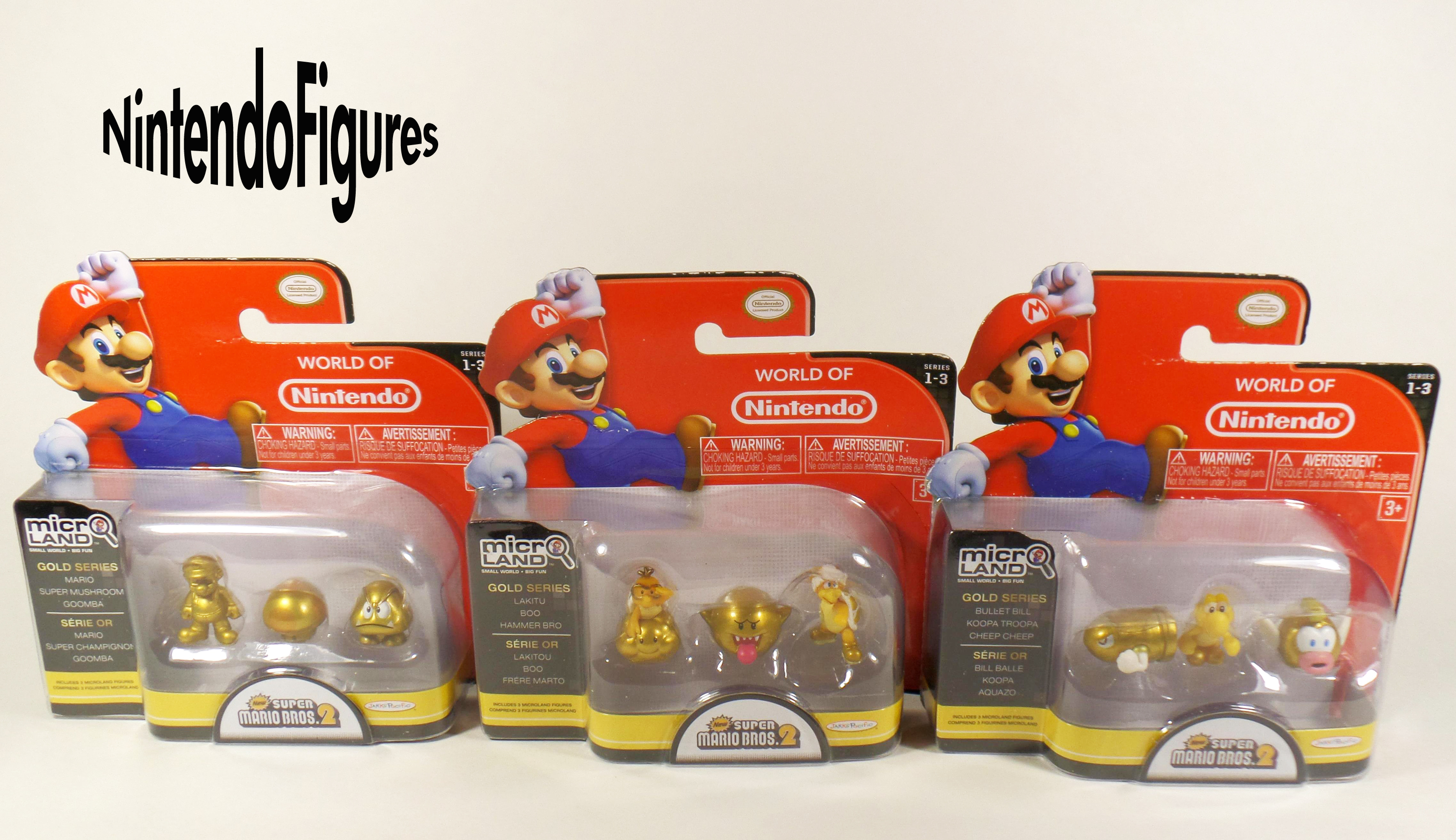 Micro Land New Super Mario Bros 2 1 3 Figure Packs Review