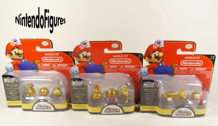 New Super Mario Bros. 2 Figure Packs