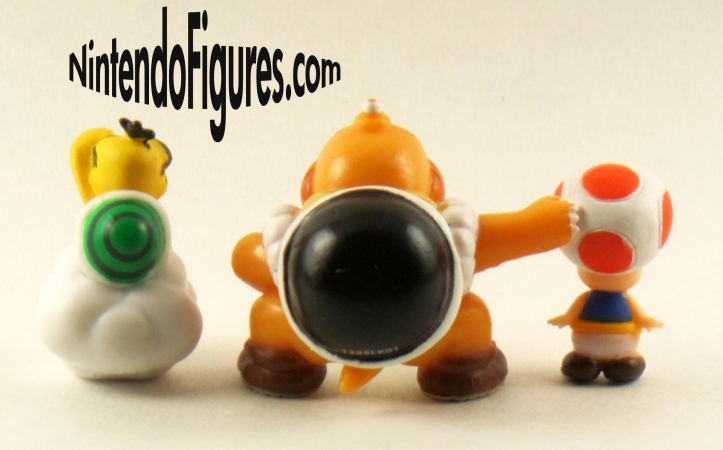World of Nintendo Micro Land Sumo Bro. Toad Lakitu Figures