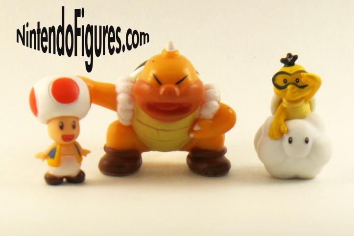 Nintendo Micro Land Sumo Bro. Toad Lakitu Figures