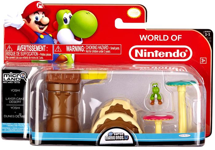 Layer Cake Desert Playset with Yoshi