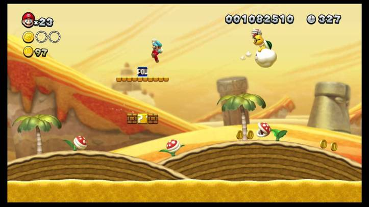 New Super Mario Bros. U - Blooming Lakitu