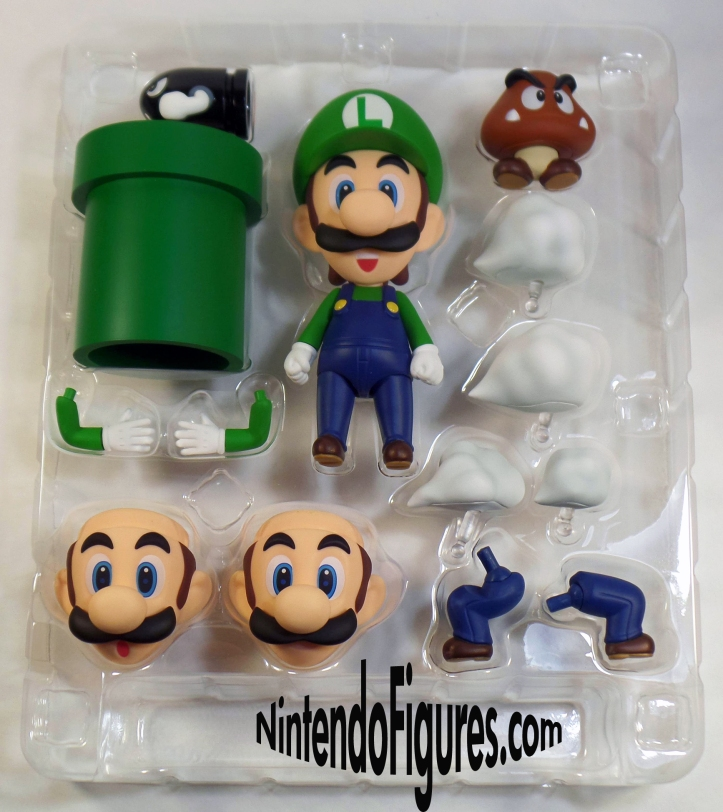 Luigi Nendoroid Accessories