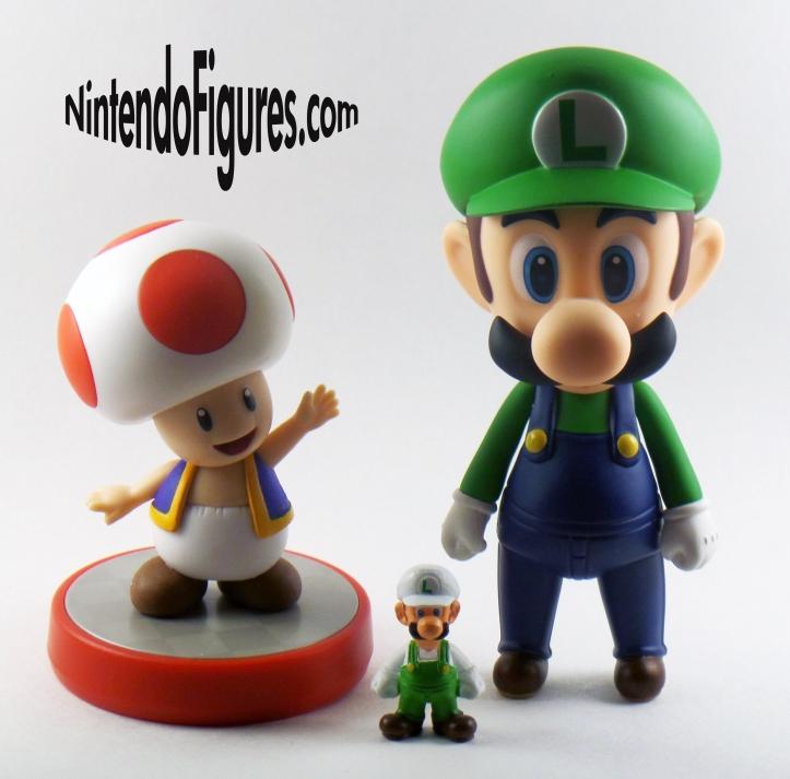 Comparison of Nendoroid, Amiibo, and Micro Land Figures