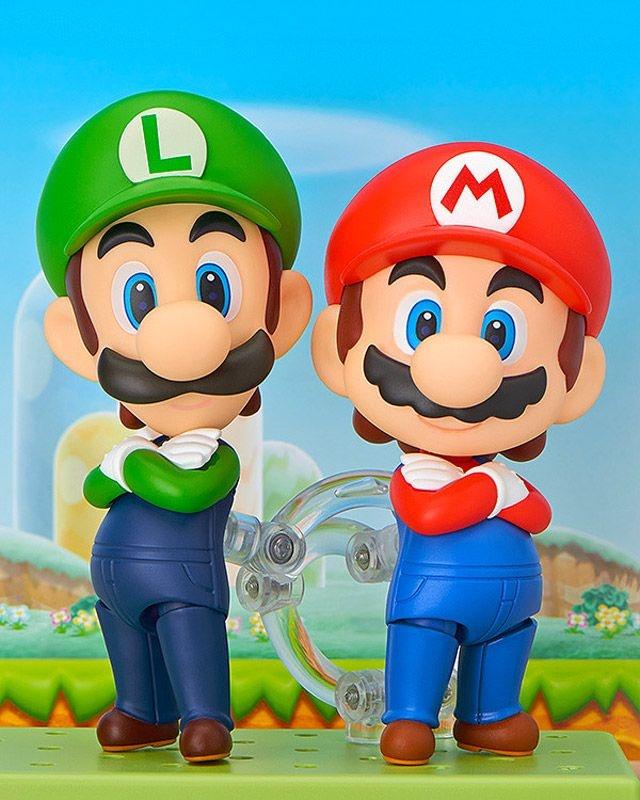 Mario and Luigi Nendoroid