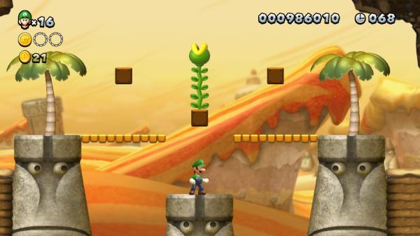 New Super Mario Bros. U Stone-Eye Gaze