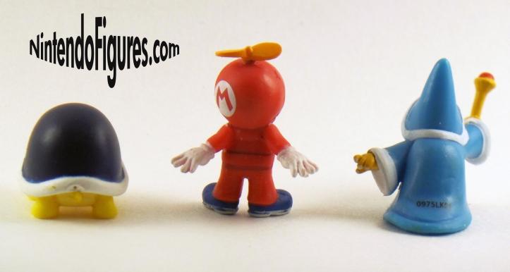 Micro Land Propeller Mario, Buzzy Beetle, and Kamek Figure Pack