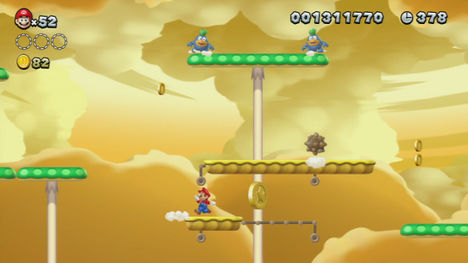 New Super Mario Bros U Screen Shot