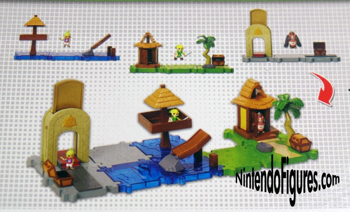 Wind Waker Micro Land Jakks Pacific Display