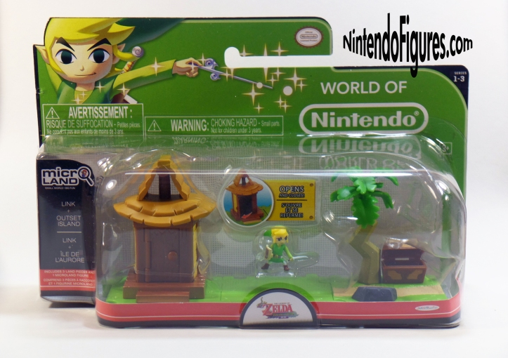 Wind Waker Link Outset Island Micro Land Playset