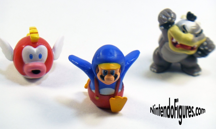 Cheep Cheep Penguin Mario Morton Koopa Micro Land Close Up
