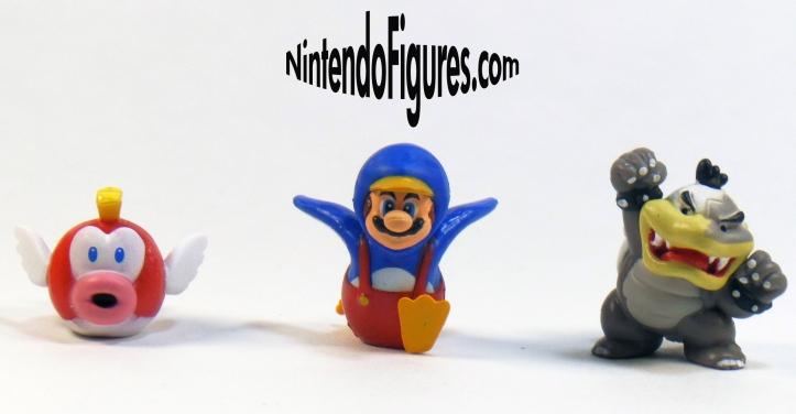 Cheep Cheep Penguin Mario Morton Koopa Micro Land