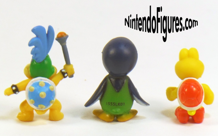 Larry Koopa Penguin Luigi Red Koopa Troopa Micro Land Back