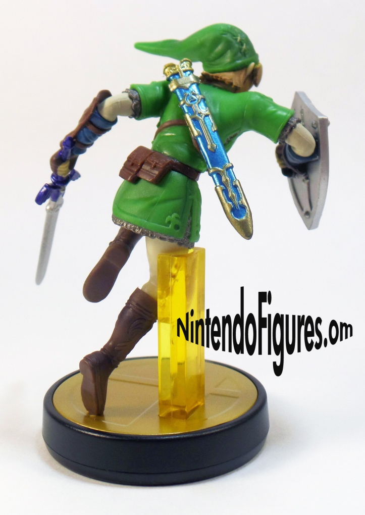 Link Amiibo Back