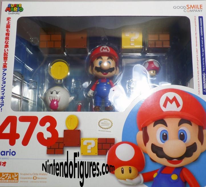 Mario Nendoroid Box