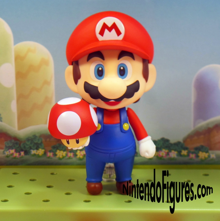 Mario Nendoroid with a Mushroom