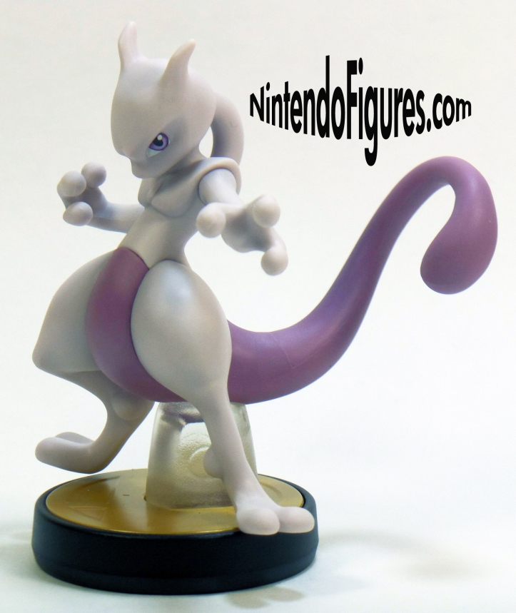 Mewtwo Amiibo Side View