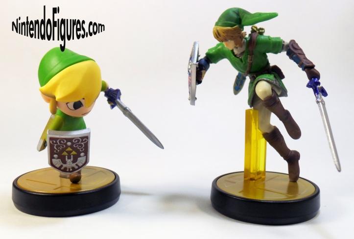Toon Link Versus Link Amiibo