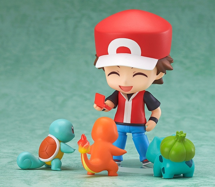 Trainer Red Nendoroid