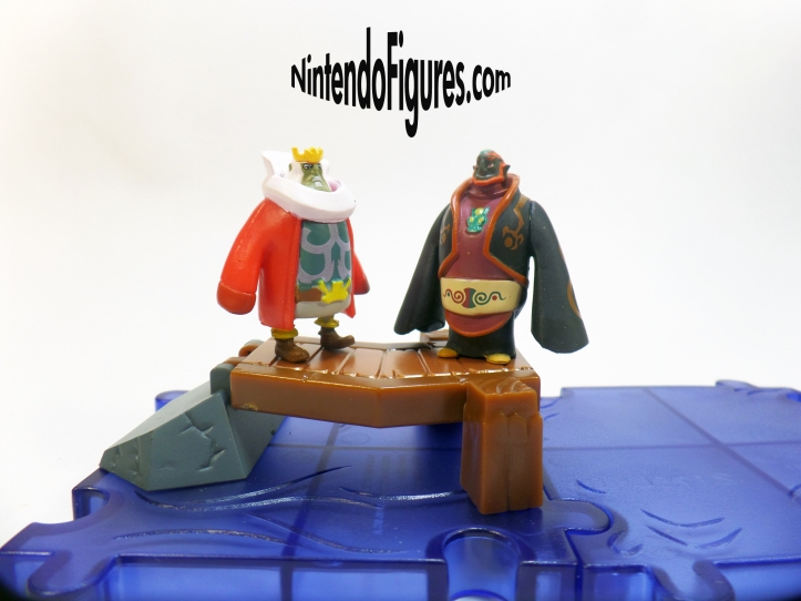 Legend of Zelda Wind Waker World of Nintendo Micro Land King of Hyrule Ganon Figures