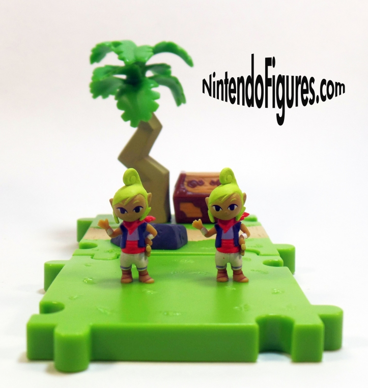 Legend of Zelda Wind Waker Micro Land Tetra Figures
