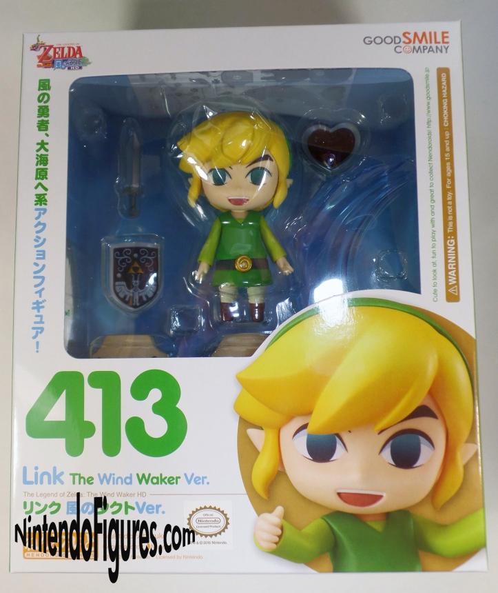 Link Wind Waker Nendoroid Box Front