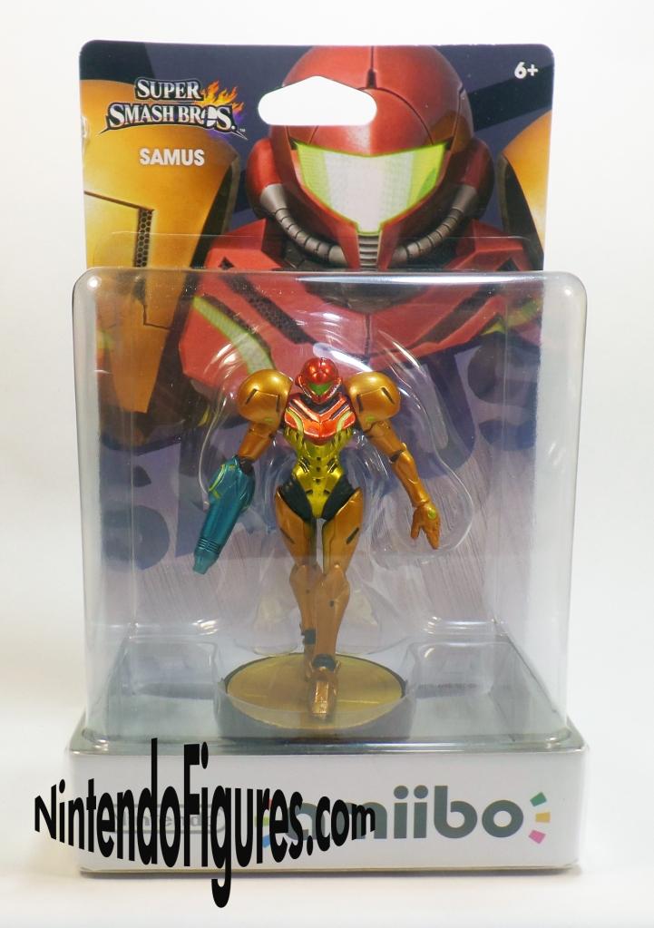 Samus Amiibo Box