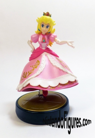 Smash Brothers Peach Amiibo Front