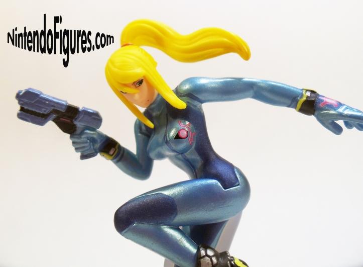 Zero Suit Samus Amiibo Detail