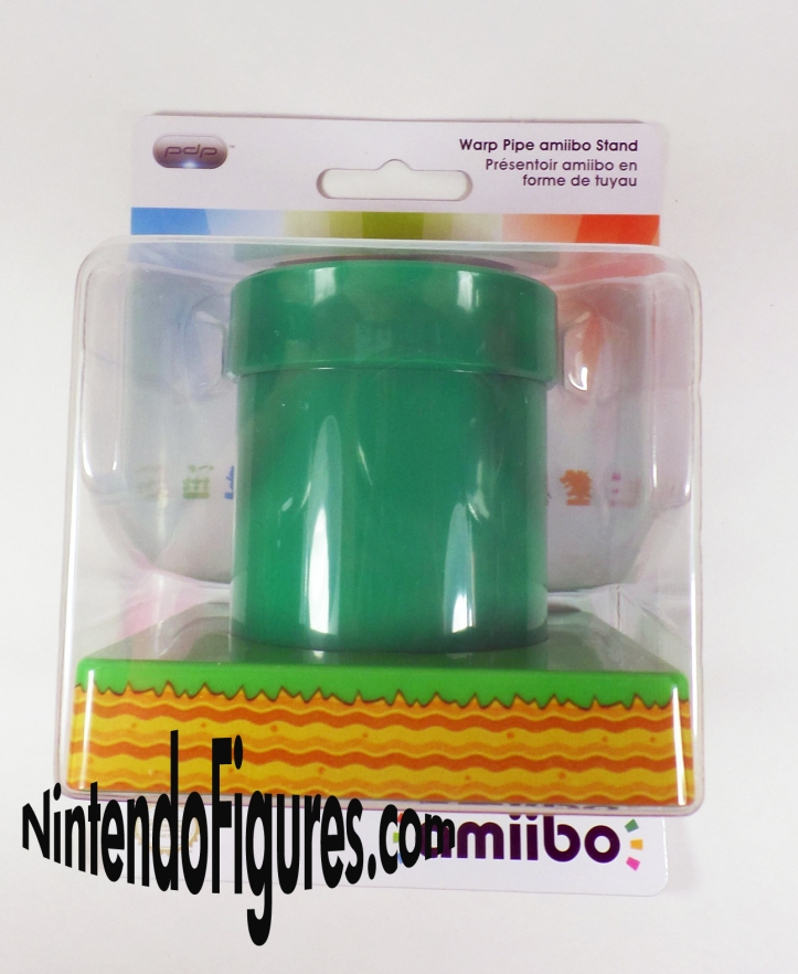 Amiibo Warp Pipe Stand Box