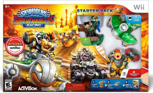 Bowser Skylanders Amiibo Starter Pack