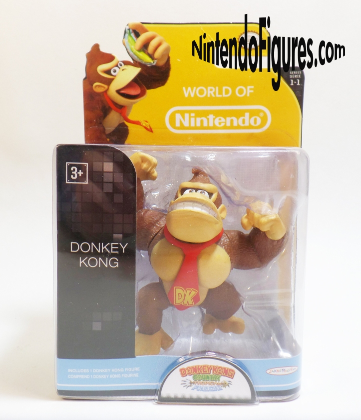 Donkey Kong World of Nintendo Figure Box