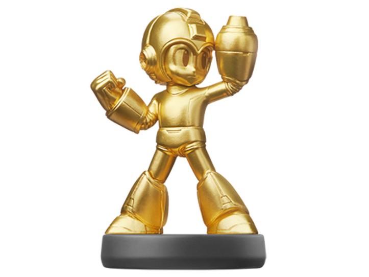 Gold Mega Man Amiibo