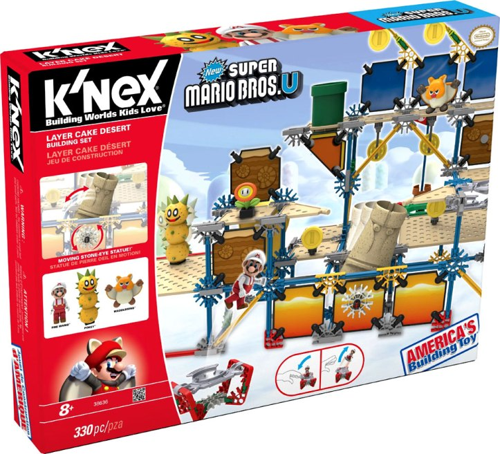 Layer Cake Desert Super Mario Bros. U K'Nex Set