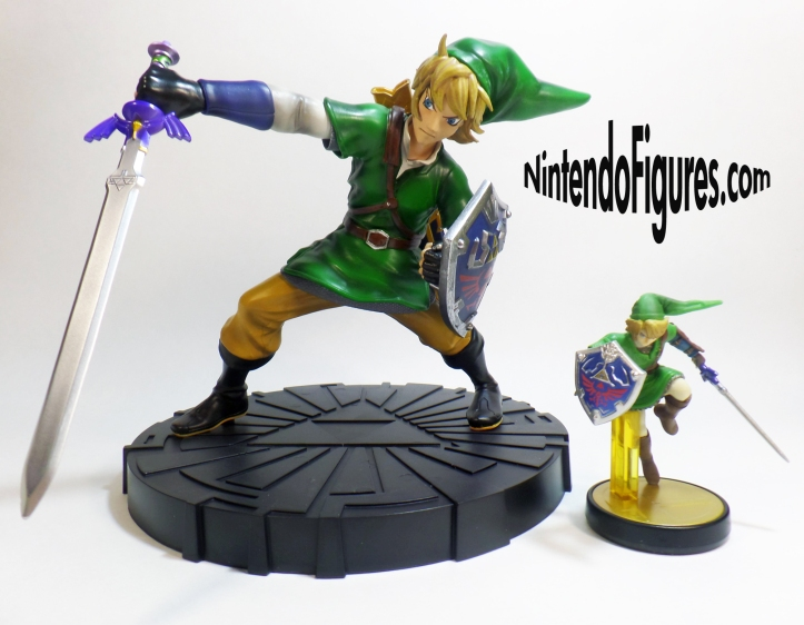 Link Skyward Sword Statue Size Comparison