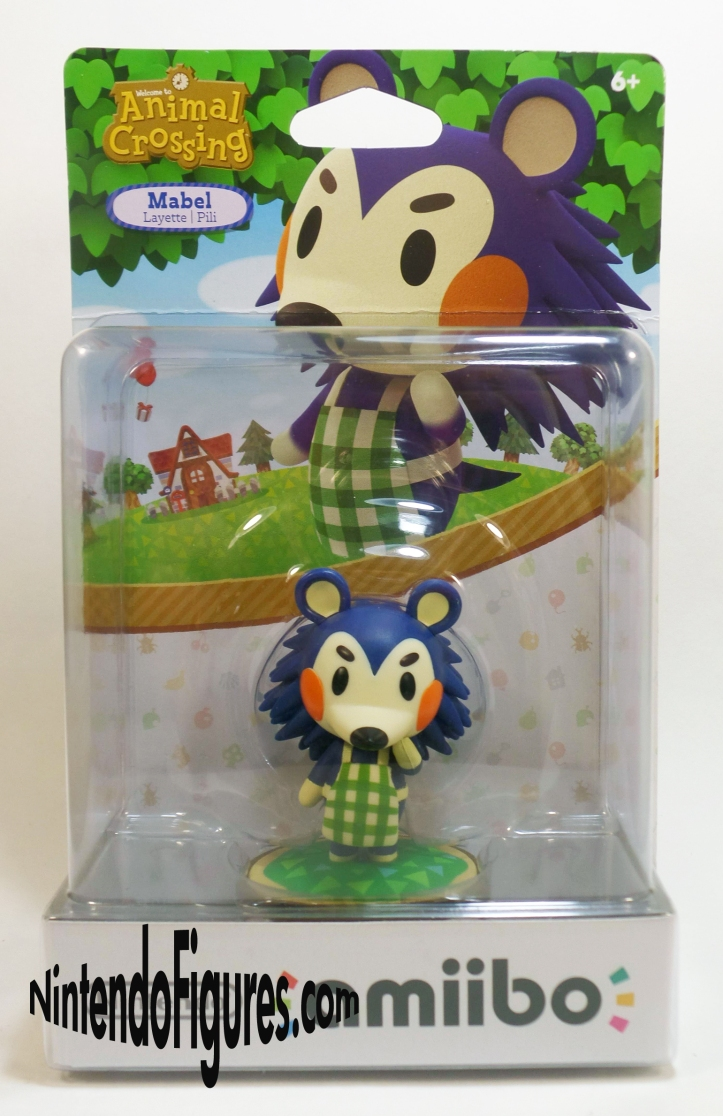 Mabel Animal Crossing Amiibo