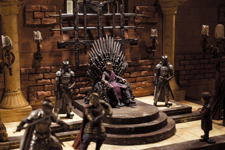 McFarlane Game of Thrones Iron Throne Room Set
