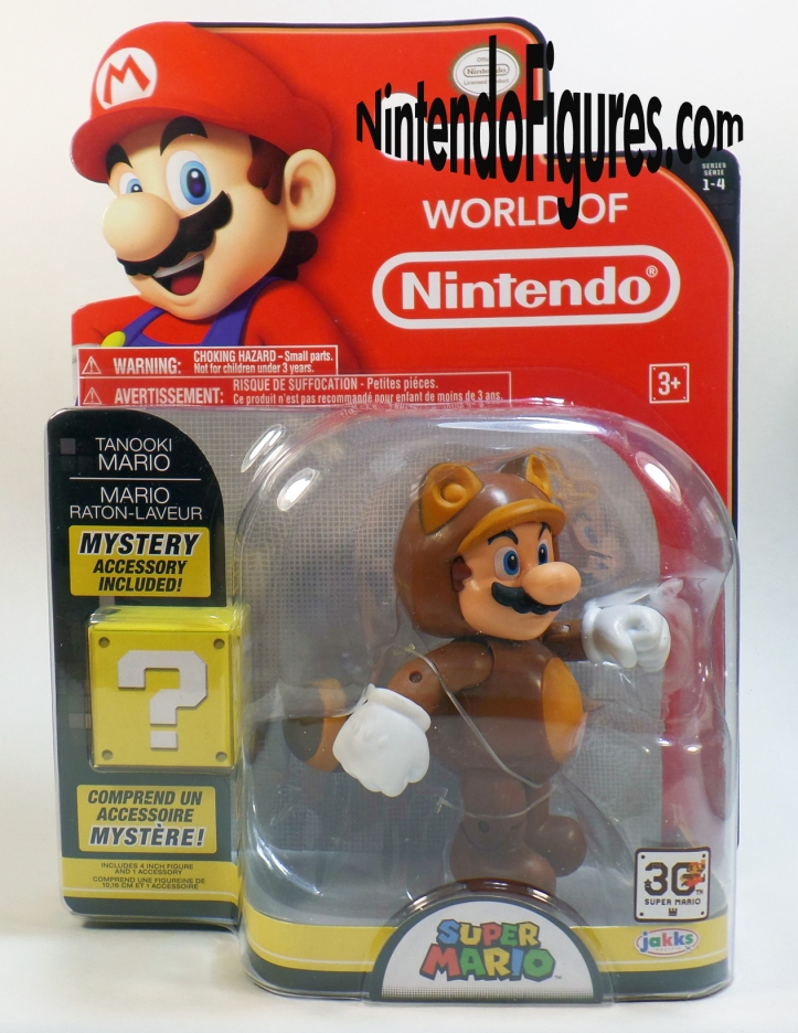 Tanooki Mario World of Nintendo 4- Figure Box