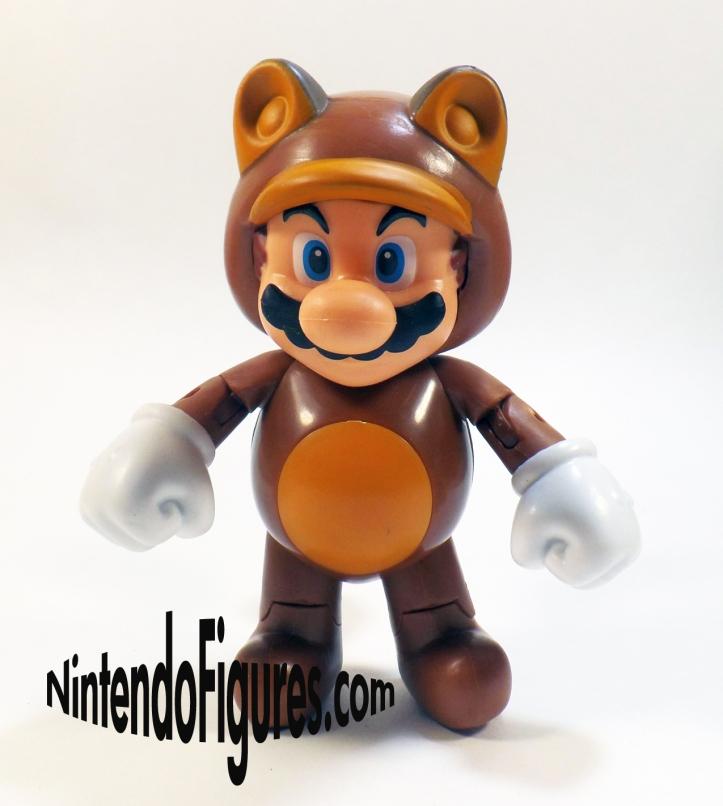 Tanooki Mario World of Nintendo 4 inch Figure Pose 2