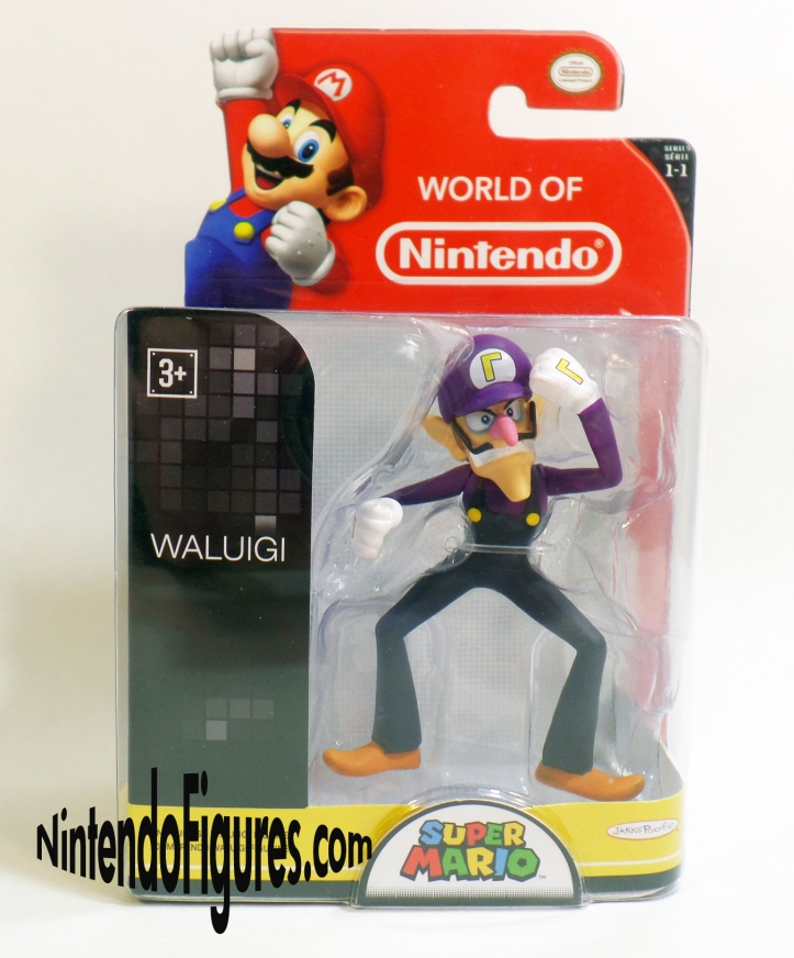 Waluigi World of Nintendo Figure Box