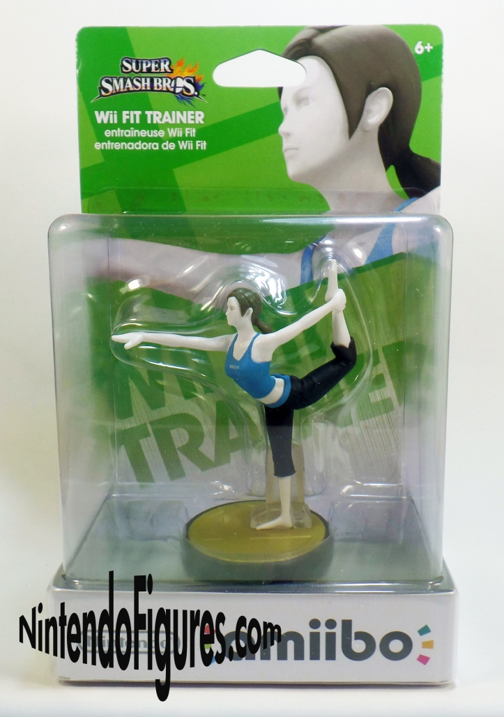Wii Fit Trainer Amiibo Box