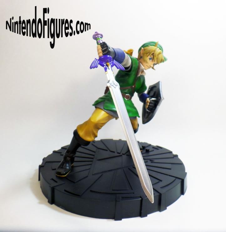 Zelda Skyward Sword Statue Angle 3